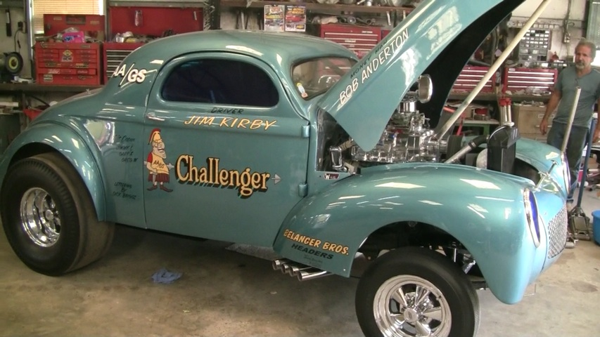 Willys 496 Supercharged